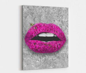 Rosy Stone Lips